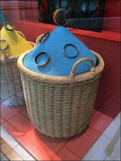 Hermes Color Sands Wicker Baskets 3