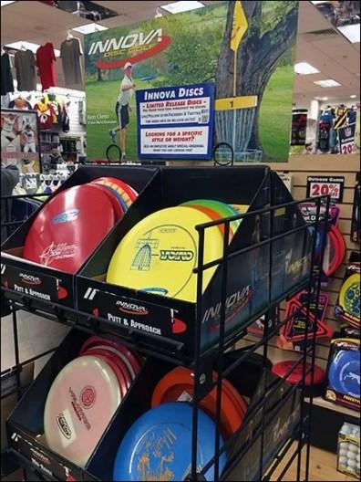 Innova Disc Golf Frisbee Display 5