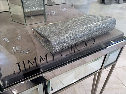 Jimmy Choo Museum Case CloseUp 1