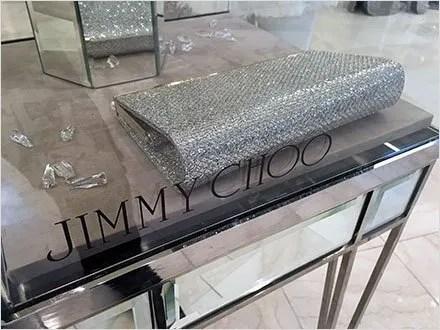 Jimmy Choo Museum Case CloseUp 1