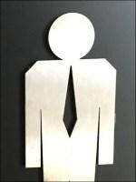 Concierge Hardware Restroom Signs Icon Closeup