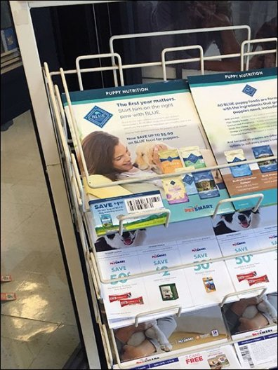 Literature Rack Flyer Hold Down 2