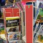 Literature Swing Away PowerWing Rack CloseUp Feature