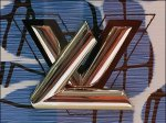 Louis Vuitton Purse LV Chrome Logo