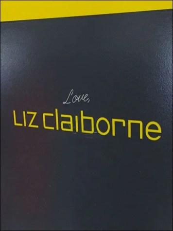 Love Liz Claiborne Sign Closeup