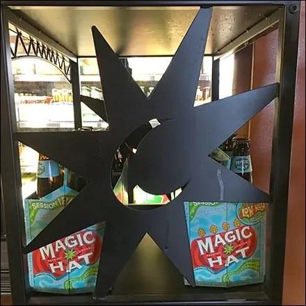Magic Hat Occult Metal Plate 1