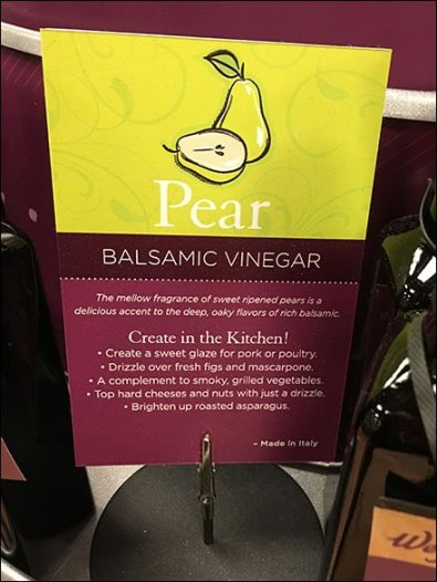 Olive Oil & Vinegar Flavor Bar