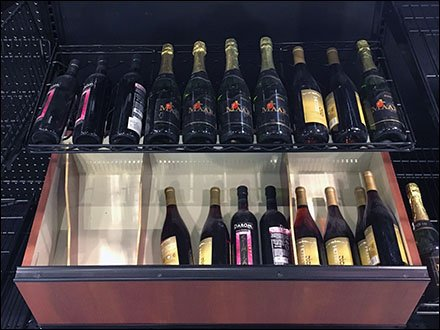 Metro Super Erecta Wire Wine Bottle Shelf Aux