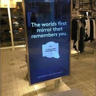 Neiman Marcus Mirror Remembers You
