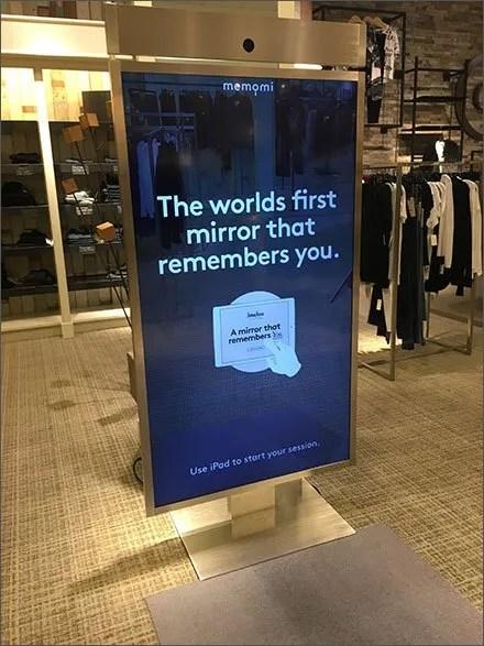 Neiman Marcus Mirror Remembers You