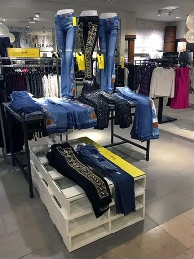 Neiman Marcus Pallet Merchandising