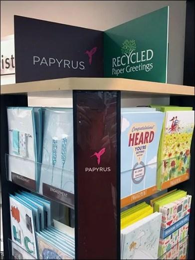 Papyrus Humming Bird Brands Display
