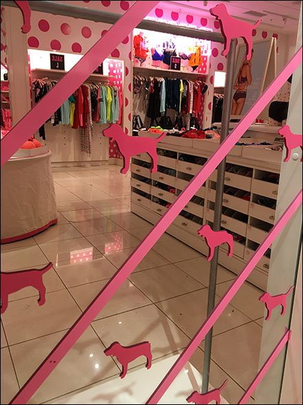 Pink Step-And-Repeat Mirror Main