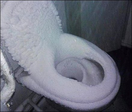 Cold Toilet Seat Remedy Needed