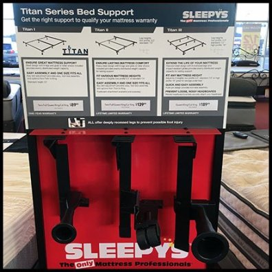 Sleepys Bed Frame Merchandising 2
