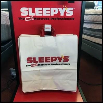 sleepys bed frame merchandising 3