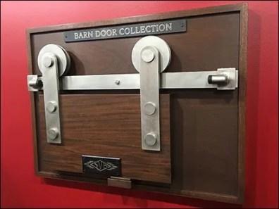 Barn Door Hardware Try-Me In-Store