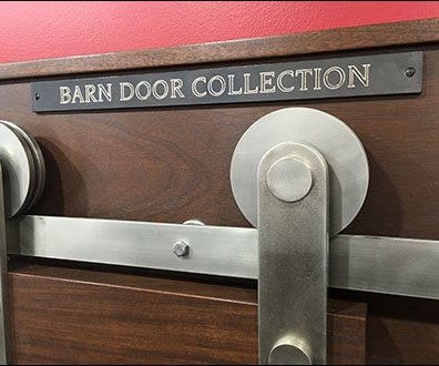 Barn Door Hardware Try-Me In-Store