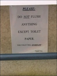 Toilet Will Overflow Warning Overall 3