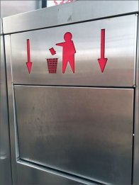 Trash Goes Down Receptical Directive 2