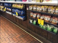 Perforated Under-Counter Snack Racks