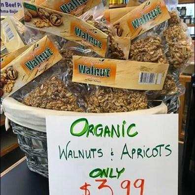 Armenian Organic Walnuts and Apricots 1