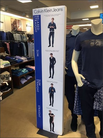 Calvin Kline Size & Style Guidance Main