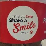 Coke Share a Smile Tag Line Aux