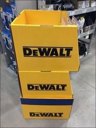 DeWalt Case Lot Easily Dominates Saw Aisle Traffic