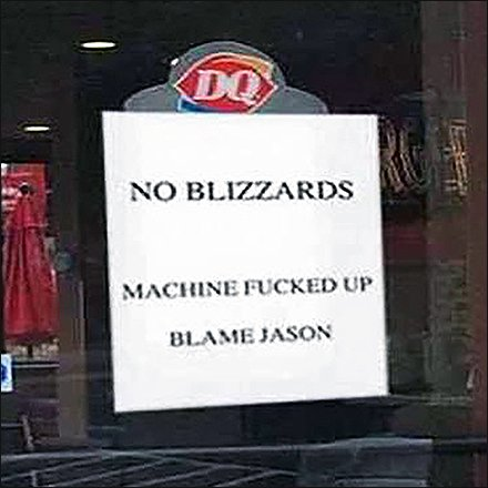 DQ No Blizzards Feature