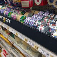 Duck Tape On-Shelf Lane Control 1