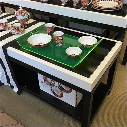 Edge-Lit Acrylic Tray Macys Tableware Main