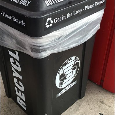 Four-Way Recycle Bin 2