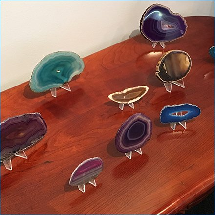 Geode Table Stands Main