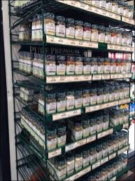 Gormanoff Spice Hunter Branded Gravity-Feed Spice Rack