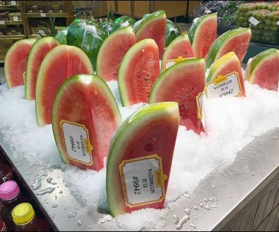 Gourmanoff Produce Assorted Iced Watermelon Aux