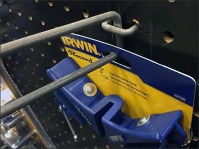 Irwin Corner Clamp Scan Hook 3