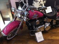 Kiehl's Do Not Touch The Harley-Davidson Warning