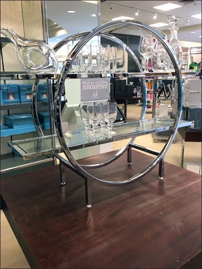Lenox Glass Circular Display Rack 2