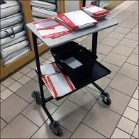 Visual Merchandising Cart