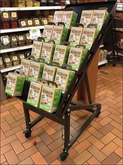 Organic Mushroom Farm For Sale Mobile Rack