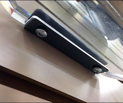 Moen Faucet Backplate for Slatwall