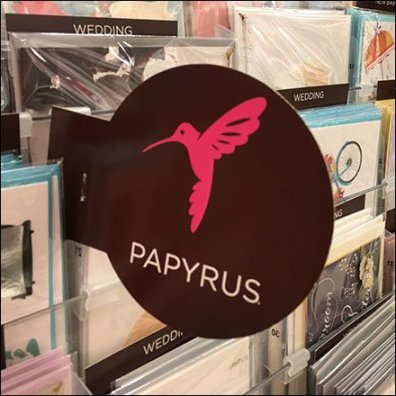 Papyrus Brand Flag Perspective