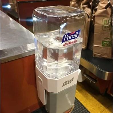 Purell Cashwrap Sanitizer 1