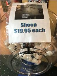 Serta Sheep Sale Gumball Machine 3