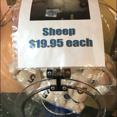 Serta Sheep Sale Gumball Machine 3