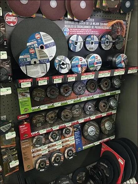 ShopSmith Cutting Head Display Main