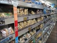 Trader Joes Endless Aisle Nut Merchandiser's Dream