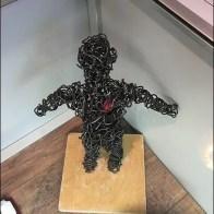 Wire Man Heart 1