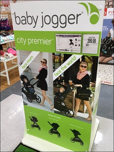 Baby Jogger Color Floor Graphic Color Coded